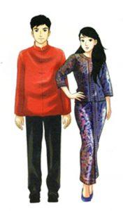 สิงคโปร์ การแต่งกาย